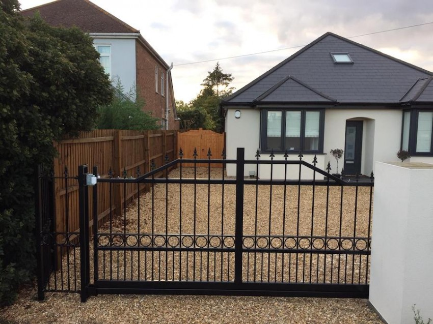 Automated Residential Steel Gates