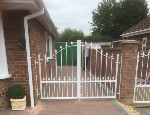 Residential Steel Gates
