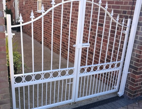 Residential Fabricated Steel Gates